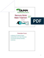 Recovery Boiler Water Treatment