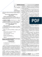 Decreto Supremo que aprueba la Estrategia Multisectorial Barrio Seguro