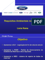 Requisitos Ambientais Ford