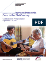 Music Therapy and Dementia Prog and Abstracts