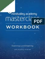 Exploring Lucid Dreaming Masterclass With Andrew Holecek Workbook