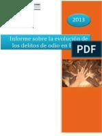 ES - Informe Delitos de Odio 2013 (Min Interior)