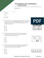 Math30-1 Diploma Practice Exam PermutationsAndCombinations