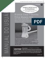 Manual Piscina Intex