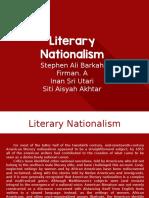 Literary Nationalism