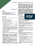 Biodata of Dr v K Raina