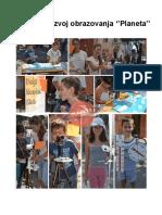 Porftolio Centra za razvoj obrazovanja ''Planeta''