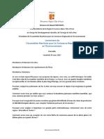 Discours de Maud Fontenoy Vice-présidente de la Région Provence-Alpes-Côte d'Azur -lancement de l AMCRE - 24.03.2017