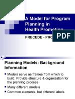 Models for Program Planning In_2