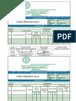 Kartu Perbaikan ISO 2014