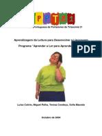 Programa Aprender Ler Aprender Falar