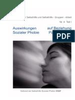 Auswirkungen Sozialer Phobie Auf Beziehung Bzw Partnerschaft
