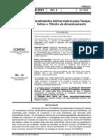 N-2913 Revestimentos Anticorrosivos Para Tanque, Rev B