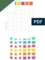 Juego Tablero Formas Geometricas