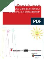 Manual de Atencion a Niñas y Niños Victimas de La Violencia de Genero en El Ambito Familiar