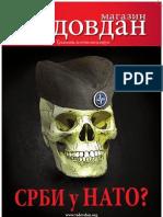 """Časopis Vidovdan, broj prvi, """"SRBI U NATO?"""""""
