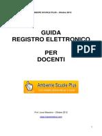Guida Registro Elettronico Per Docenti 2012