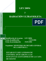 Ultravioleta Ley 20.096