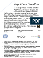 Hazard Analisys & Critical Control Point