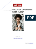 Digitally Collage a Camouflage Paper Jacket