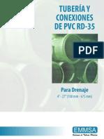 Tuberia y Conexiones de PVC RD-35