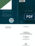 Louis Althusser Initiation a La Philosophie Pour Les Nonphilosophes