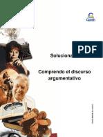 Solucionario Clase 9 Comprendo El Discurso Argumentativo 2016