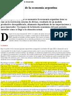 ALDO FERRER El Dipló _ El Pecado Original de La Economía Argentina
