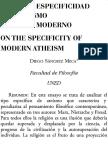 Ateismo Moderno