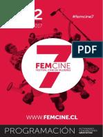 Programa Femcine 7 edición