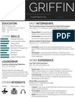 dan griffin resume