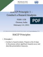 Intermediate Level_2_ HACCP Principle 1- Hazard Analysis
