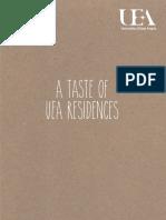 A Taste of UEA Residences
