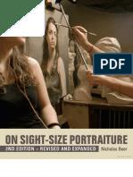 On sight Size portraiture