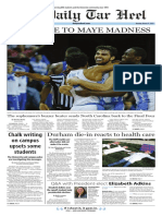 The Daily Tar Heel for March 27, 2017