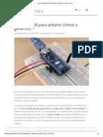 Driver CH340 Para Arduino Chinos o Genericos - Geek Factory