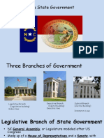 nc state branches of government  4