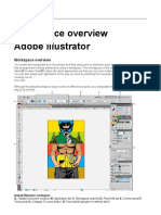 illustrator workspace overview
