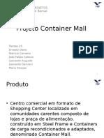 Projeto Container Mall Parte 2