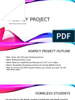 agency project powerpoint presentation