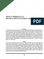 Mito y Poder en La Revolucion Cultural China - Julio Amador Bech