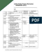 Agenda Rapat Panitia Bukber Smanseb 2017 (25 Feb 2017)