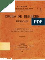 Cours de Berbere Marocain