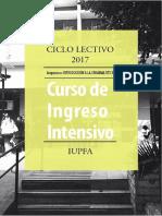 cuadernillo de introducción a la  Criminalística - IUPFA2017