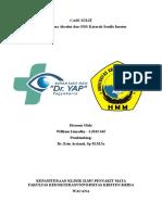 Case Sulit Os Glaukoma Absolut Dan Ods Katarak Imatur Senilis