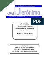 LA RUBRICA Instrumento de Evaluacion Wilfredo Rimari