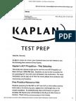 kaplan practice opportunities