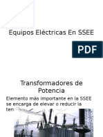 Equipos en SSEE de Poder