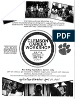 clemson career workshop