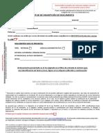 Solicitud Inscripcion Documento Registro Mercantil